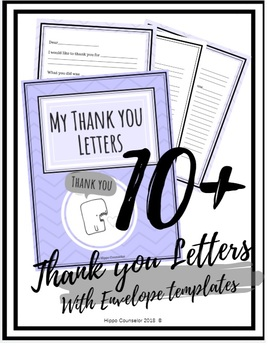 My Thank you letters