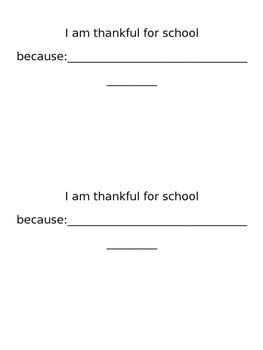 My Thankful Book