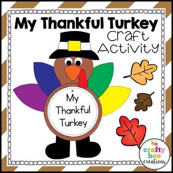 My Thankful Turkey Craftivity
