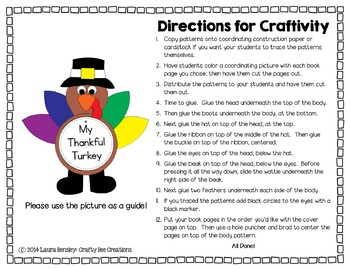 Turkey Craft {My Thankful Turkey}