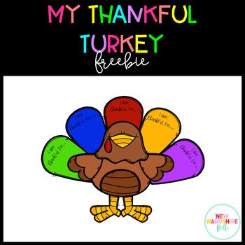 My Thankful Turkey FREEBIE