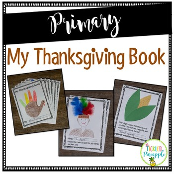 Interactive: Thanksgiving Book