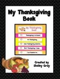 My Thanksgiving Book