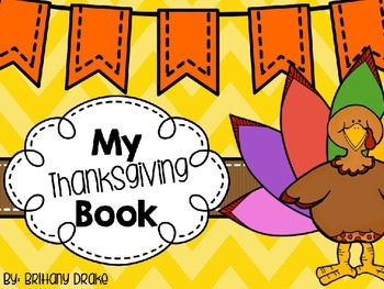 My Thanksgiving Book