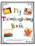 Thanksgiving Book - Student-Made Craft Book