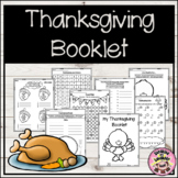 My Thanksgiving Booklet
