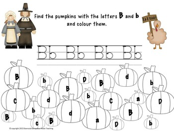 My Thanksgiving Revision-ABC Numbers Colors