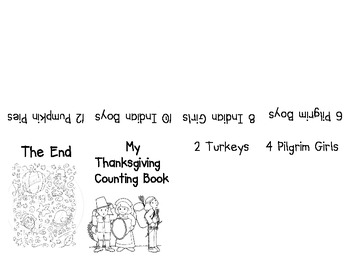 My Thanksgiving Counting Book