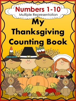 My Thanksgiving Interactive Counting Book (Multiple Repres