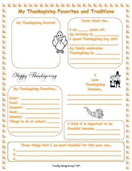 My Thanksgiving Favorites and Traditions