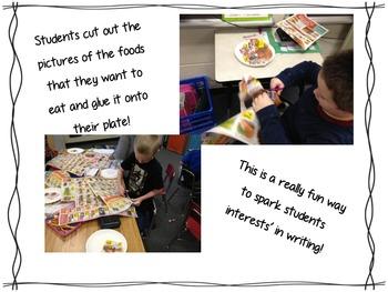My Thanksgiving Feast Writing Craftivity Freebie!