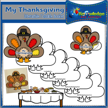 My Thanksgiving Interactive Foldable Booklet