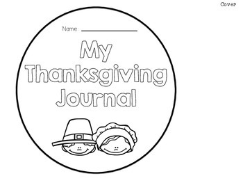 My Thanksgiving Journal FREEBIE