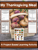 My Thanksgiving Meal Plan- A Project Based Learning Math Activity