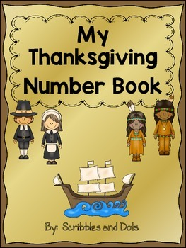 My Thanksgiving Number Book