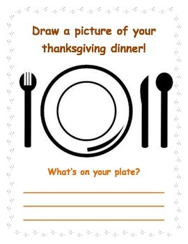 My Thanksgiving Packet