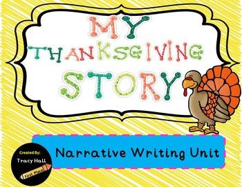 My Thanksgiving Story-Narrative Writing