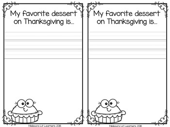 My Thanksgiving Student Book