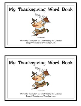 My Thanksgiving Word Book