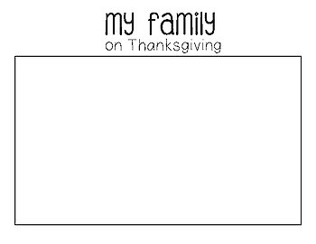 My Thanksgiving Writing