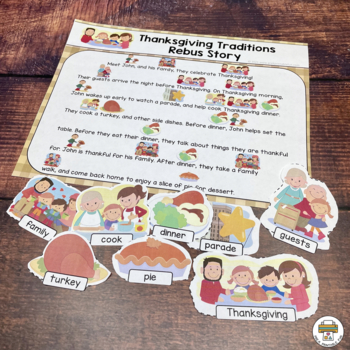 My Thanksgiving re-tell the story pack