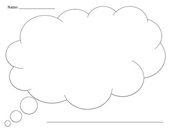 My Thoughts: Graphic Organizer