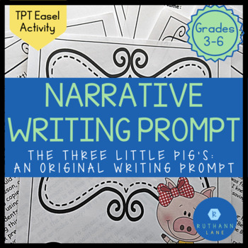 My Three Little Pigs: A Mother's Point of View (Text Based Writing Prompt)