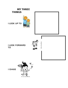 My Three Things