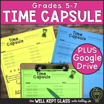 My Time Capsule (Back to School)