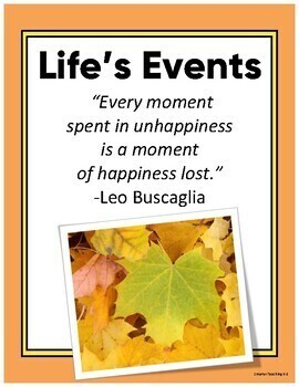 Life's BIG Events: A Personal Time Line