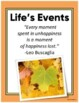 A Personal Time Line: Life's BIG Events!