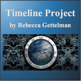 My Timeline:  A No Prep Personal Timeline Project Including Rubric