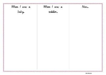 My Timeline- blank template