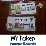 My Token Reward Cards and Choice Board