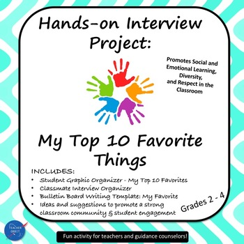 Hands-on Interview Project: My Favorite Things by Teacher