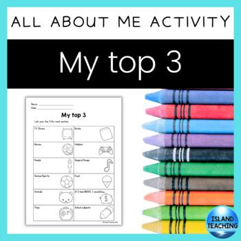 My Top Three