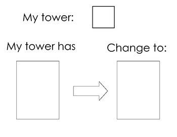 My Tower Number Sense Math Center