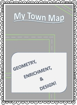 My Town Map - Geometry FREEBIE