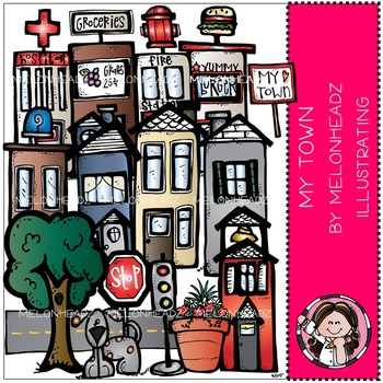 My Town by Melonheadz COMBO PACK