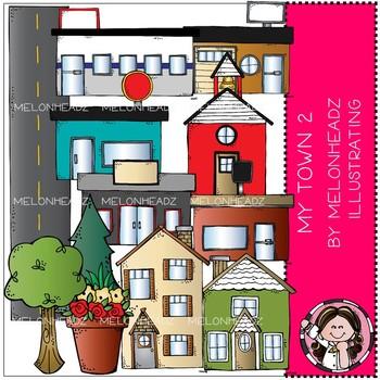 My Town clip art - Set 2 - COMBO PACK - by Melonheadz