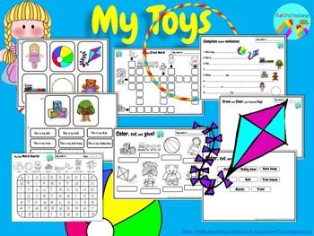 My Toys ESL EFL