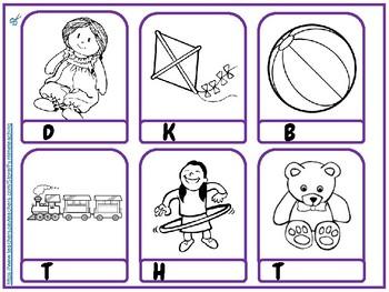 My Toys Vocabulary and Printable ESL EFL