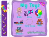 My Toys Vocabulary and Printable ESL EFL