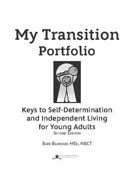 My Transition Portfolio - Student Fillable eBook