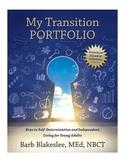 My Transition Portfolio - Student Fillable eBook