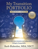 My Transition Portfolio - Teacher's Edition eBook
