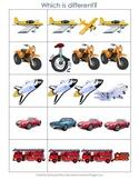 My Transportation Activity Pack
