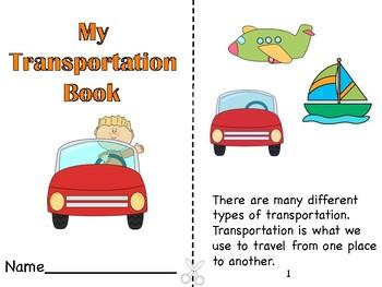 My Transportation Book