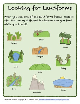 My Travel Journal, Kindergarten