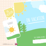 My Travel Journal⎜On vacation⎜Printable Travel Planner ⎜Ga